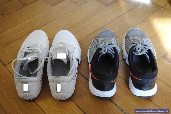 Po wyjściu zprzymierzalni zostawił puste pudełka po butach