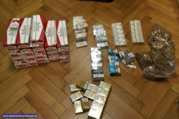 6600 papierosów i2 kg tytoniu bez polskich znaków akcyzy