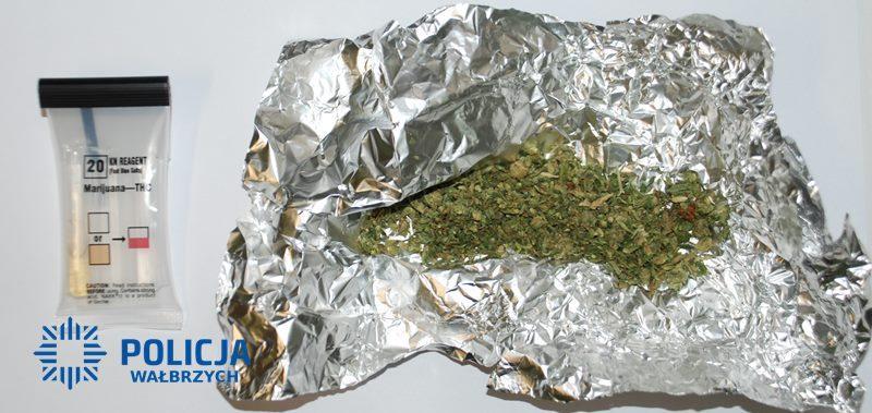 W plecaku miał ponad tysiąc porcji narkotyków