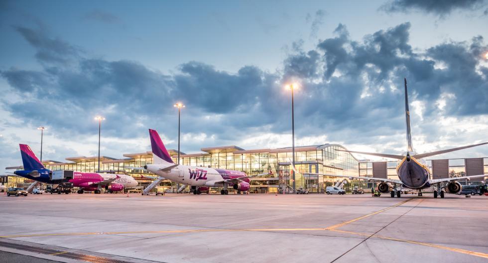 Port Lotniczy Wrocław. Ponad 17% pasażerów więcej