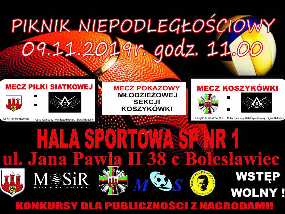 Zaproszenie doudziału wPikniku Niepodległościowym – 9 listopada