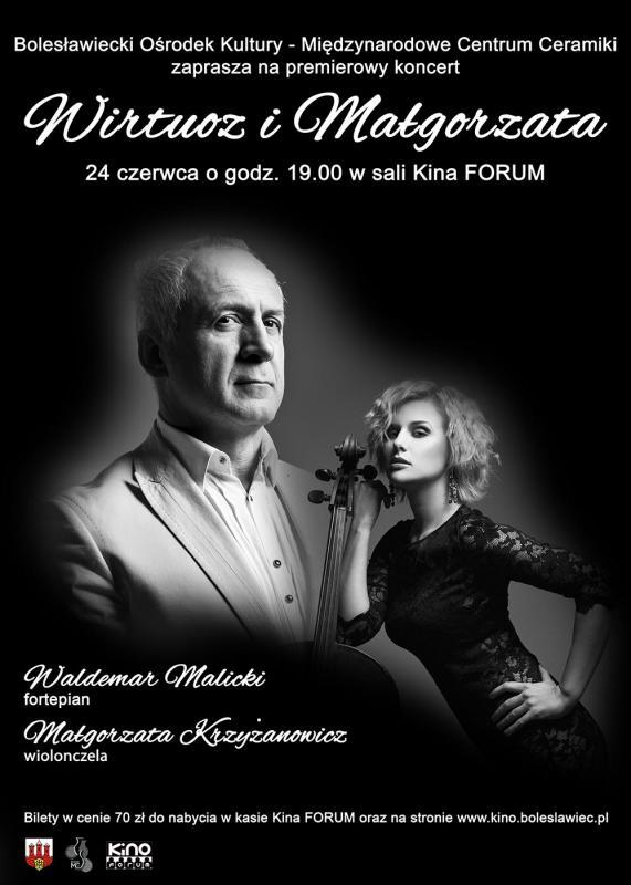 Premierowy koncert Waldemara Malickiego